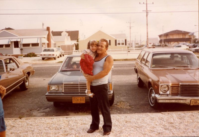 An Italian-American Daddy's-little-girl with her Daddy.