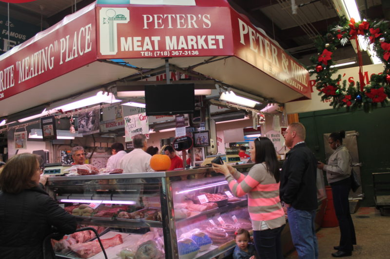 The Indoor Marketplace at Arthur Avenue in the Bronx