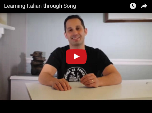 Lear Italian through Song